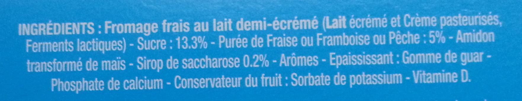 Petits Filous tub's (offre €co) - Ingredients - fr