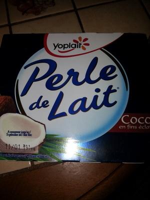 Perle de Lait Coco en fin éclats (4 pots) - Product