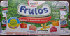Frulos (Goûts : Fraise, Pêche, Vanille, Framboise, Abricot) 16 Pots  - Product