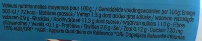 Yop Coco 850g Offre économique - Informations nutritionnelles - fr