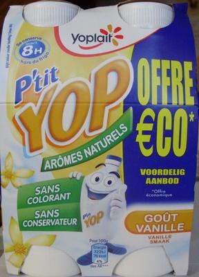 P'tit Yop, Goût Vanille (Offre €co) - Product