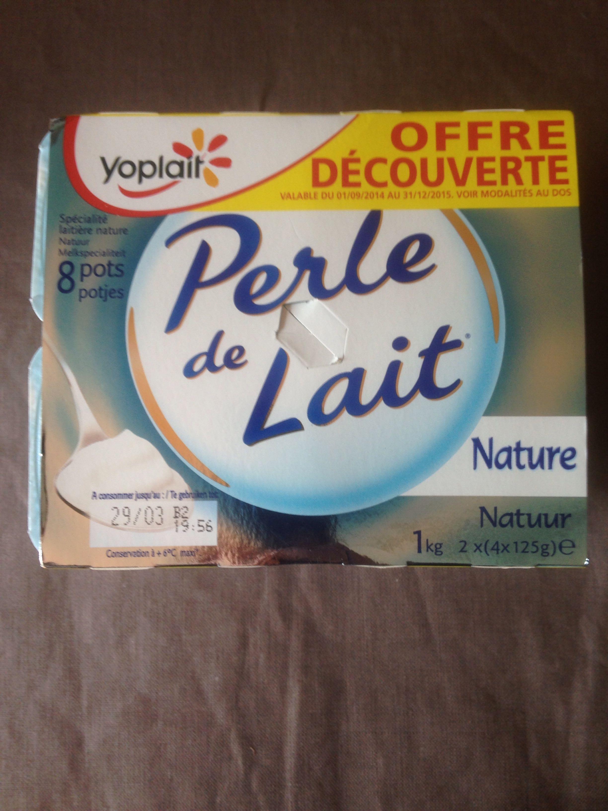 Perle de Lait Nature (8 pots) - Offre Découverte - Produit - fr