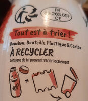 Mini Yop Fraise - Recycling instructions and/or packaging information - fr