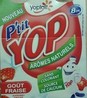 P'tit Yop goût Fraise - Product - fr