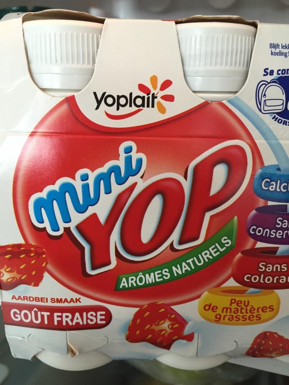 Mini Yop goût Fraise - Product - fr