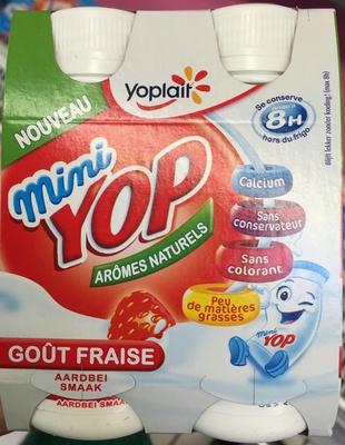 Mini Yop, Goût Fraise - Produit - fr