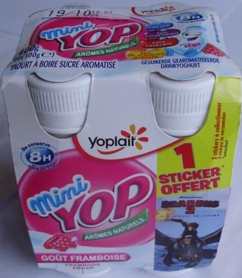Mini Yop, Goût Framboise - Produit