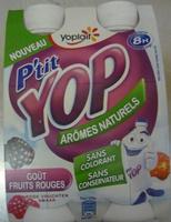 P'tit Yop, Goût Fruits Rouges - Product