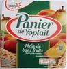 Panier de Yoplait (2 Pêche, 2 Poire) 4 Pots - Product