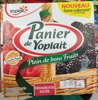 Panier de Yoplait Framboise Mûre - Product - fr