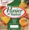 Panier de Yoplait aux fruits jaune - Produit