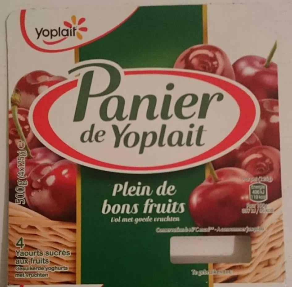 Panier de Yoplait Cerise - Product - fr