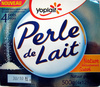 Perle de Lait (Nature délicatement Sucré) 4 Pots - Product