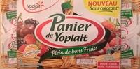 Panier de Yoplait Cerise, Fraise, Framboise, Mûre - Produit