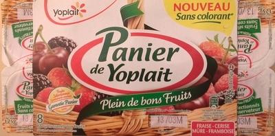 Panier de Yoplait Cerise, Fraise, Framboise, Mûre - Product - fr