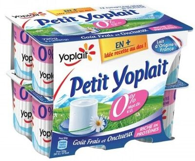 Petit Yoplait (0 % MG) - Product - fr