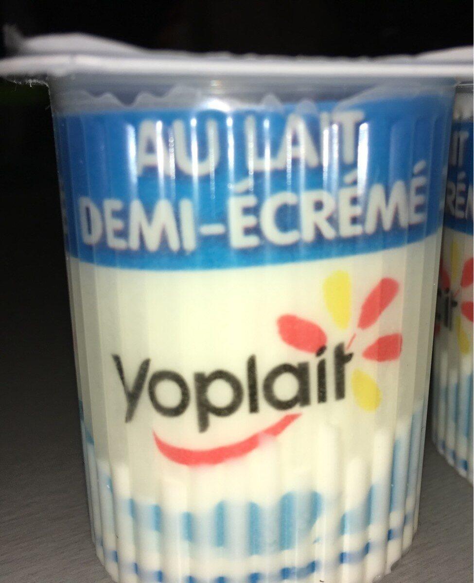 Fromage frais nature au lait demi-écrémé. - Produto - fr