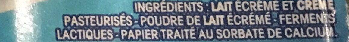 Petit Yoplait - Ingredients