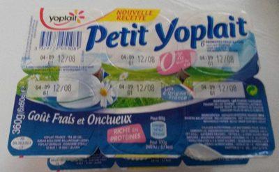 Petit Yoplait 0% 5/6/9 - Product - fr