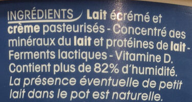 Calin+ - Ingredienti - fr