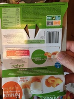 WEIGHT WATCHERS FINESSE 0% MG SUR LIT DE FRUITS JAUNES 100GX4 - Product