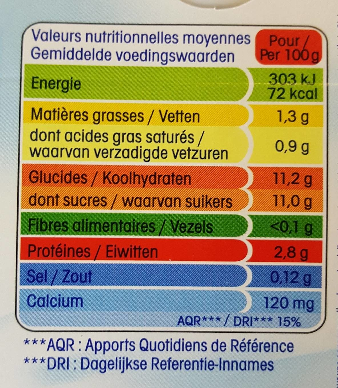 Nature S Way Protein Vanilla Nutritional Information