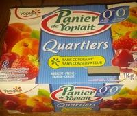 Panier Yoplait Quartiers 0% - Produit - fr
