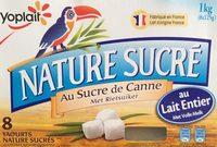 Yaourts nature sucrés - Product