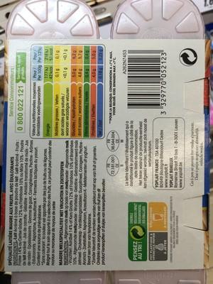 Panier de yoplait aux bons fruits 0% - 2