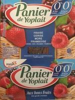 Panier de yoplait aux bons fruits 0% - Product - fr