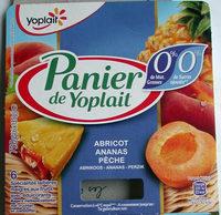 Panier de Yoplait 0% - Product - fr