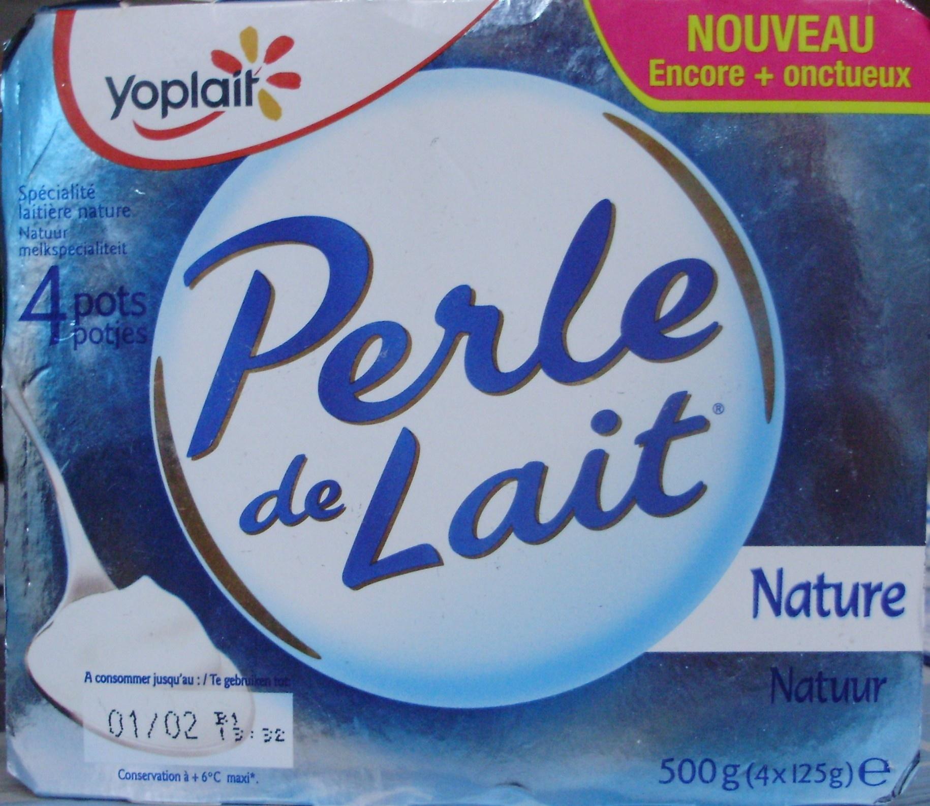 Perle de Lait (Nature) 4 Pots - Product