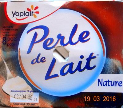 Perle de Lait Nature - Product - fr