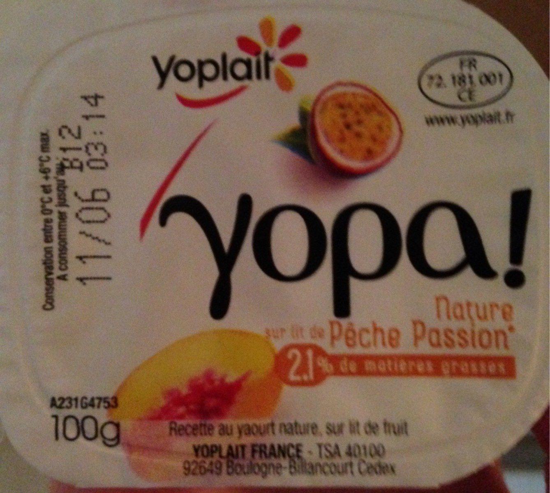 Yopa Nature sur Lit de Pêche Passion - Produit - fr