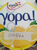 yopa! citron - Produit