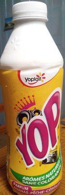 Yop Parfum Ananas, Pêche Céréales - Product - fr