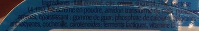 Petits Filous (Magic Duo Goût Framboise & Goût Vanille) - Ingrediënten - fr