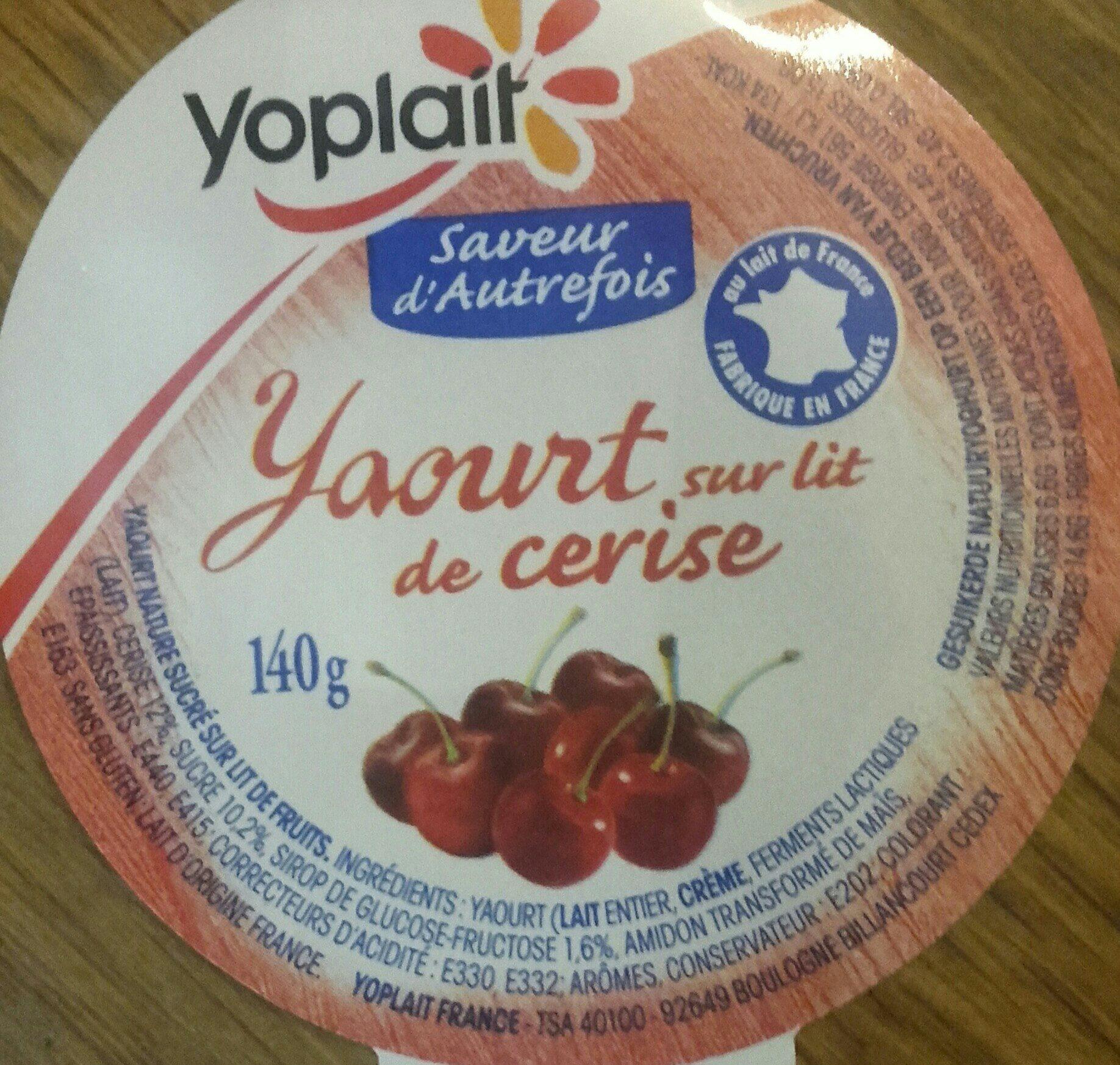 Yopa! Nature sur Lit de Fruits Rouges - Ingrédients - fr