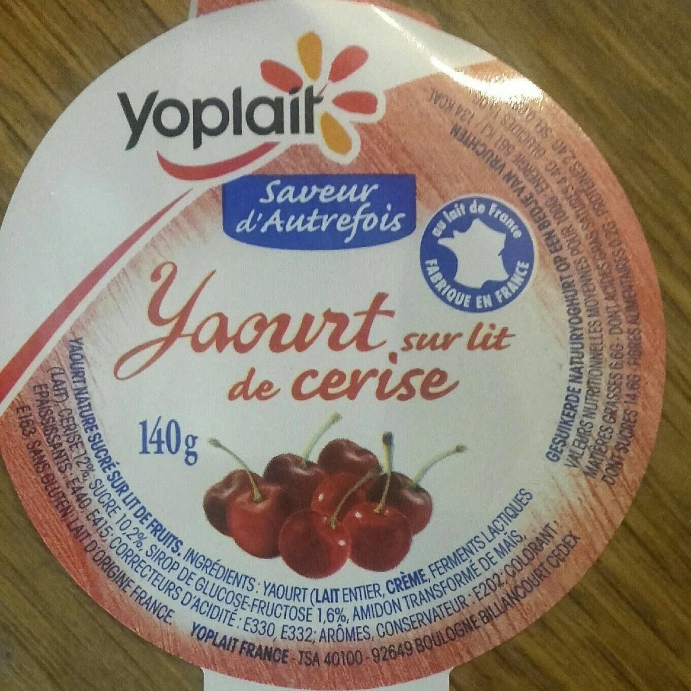 Yopa! Nature sur Lit de Fruits Rouges - Informations nutritionnelles - fr