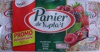 Panier de Yoplait (Framboise, Fraise, Cerise, Mûre) 8 Pots - Produit - fr
