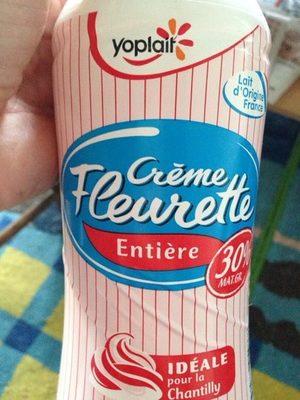 Creme Fleurette Yoplait