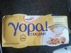 yopa craquant sur lit de muesli & abricot - Produit