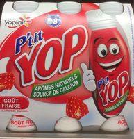 Yab ptit yop aromatise fraise - Product