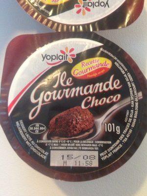 Dessert lacté au chocolat - Produit - fr
