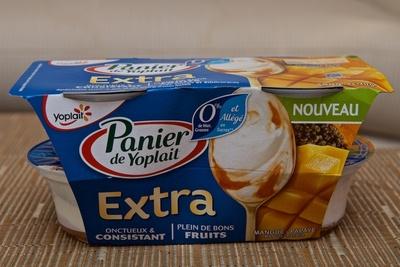 Panier de Yoplait - 0% Extra Mangue Papaye - Product - fr