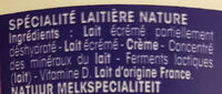 Calin Extra - Ingredients