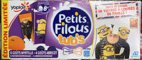 Petits Filous Tub's Goûts Myrtille et Abricot (édition limitée) - Produit - fr
