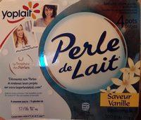 Perle de Lait - Saveur Vanille - Product
