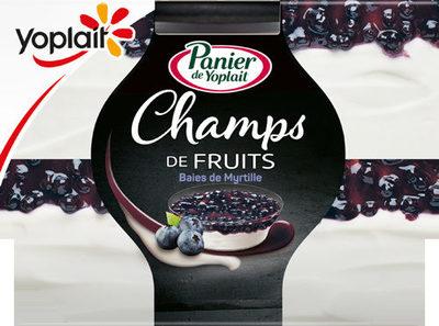 Panier de Yoplait - Champs de Fruits - Baies de Myrtilles - Product - fr