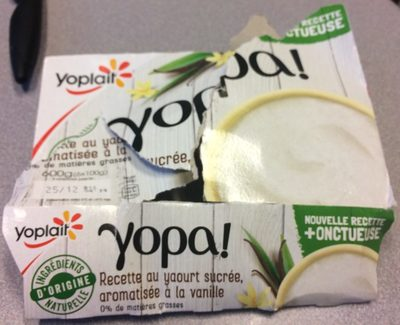 Yopa vanille - Product